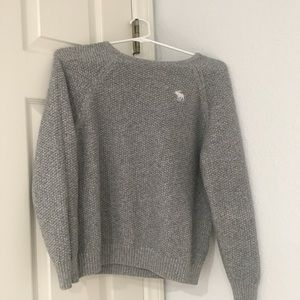 Abercrombie and Fitch size 13/14 gray sweater